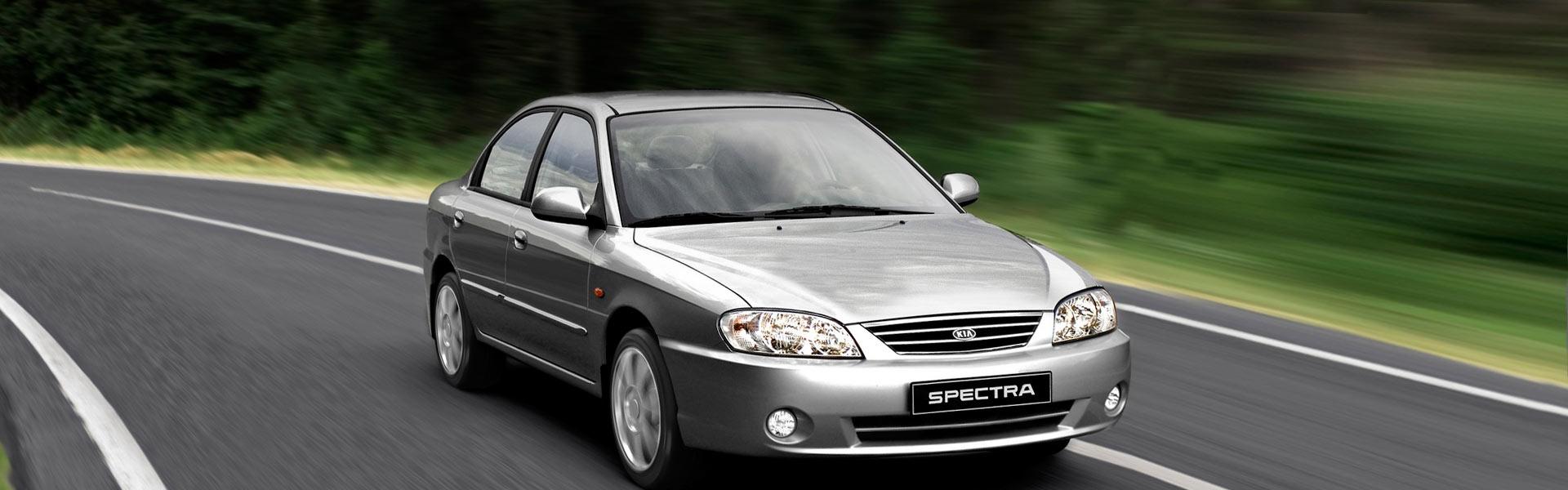 Воздушный фильтр на Kia Spectra
